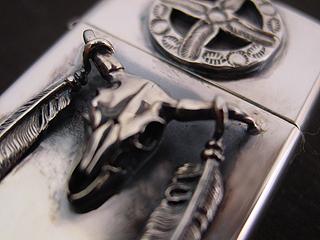 K-SMITH silver zippo sale